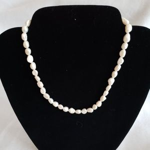 patagium pearls Jewelry - 18 inch white nugget pearl strand